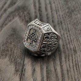 Мужской перстень Пика