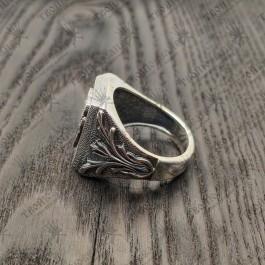 Мужской перстень Велес