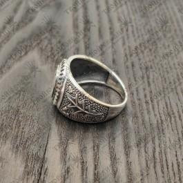 Печатка мужская серебряная Si vis pacem, para bellum