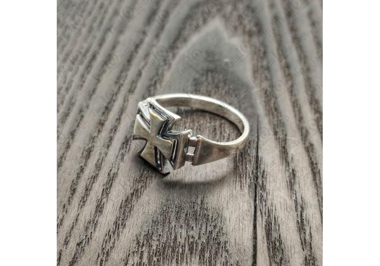 Серебряный Перстень Железный Крест