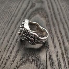 Перстень из серебра Рыцарь-Тамплиер