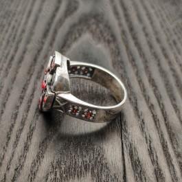 """Кольцо """"Кельтский Крест"""" с камнями"""